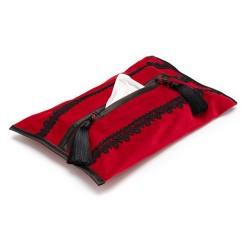 Chustecznik z tkaniny...